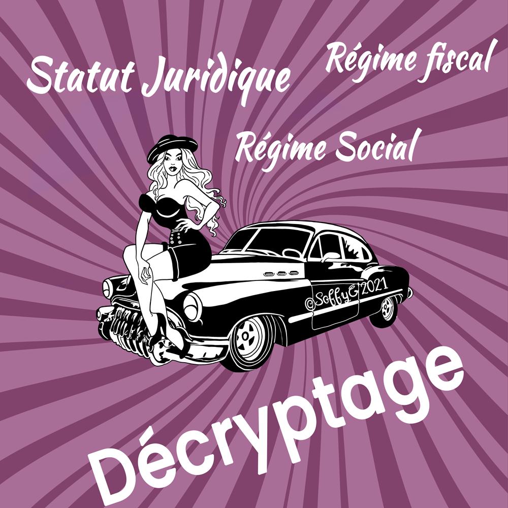 Illustratrice décryptage statut juridique
